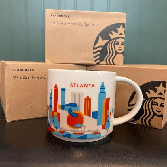"""Starbucks """" You are here collection"""" ATLANTA"""